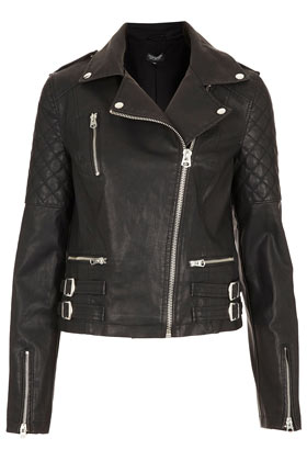 Biker Jacket - Bikers & Bombers - Jackets & Coats  - Clothing - Topshop
