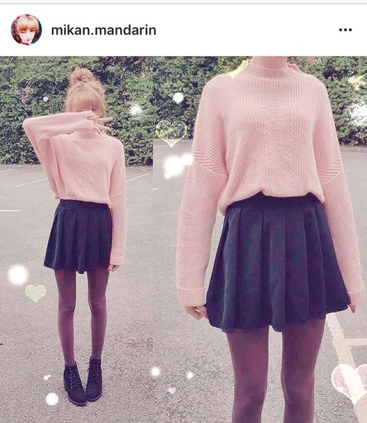 Sweater Pastel Pink Korean Fashion Japanese Asian Fashion Kawaii Wheretoget