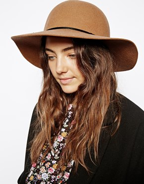 ASOS | ASOS Felt Floppy Hat at ASOS