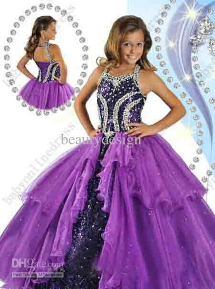 dress girl's clothes pageant dresses beautiful ball gowns