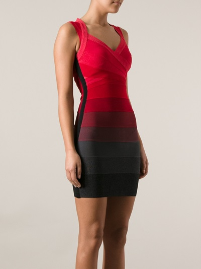 Hervé Léger Sleeveless Bandage Dress - Eraldo - Farfetch.com