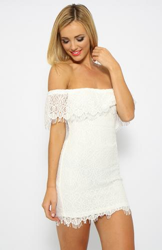 Your Dreams Dress - White | Clothes | Peppermayo