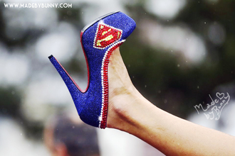 shoes superman heels