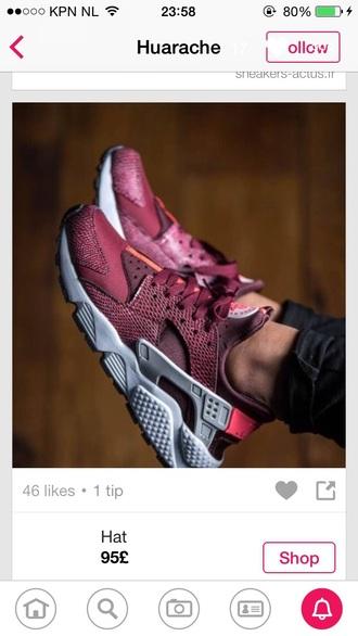 huarache shoes burgundy burgundy shoes