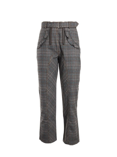 blue grey pants