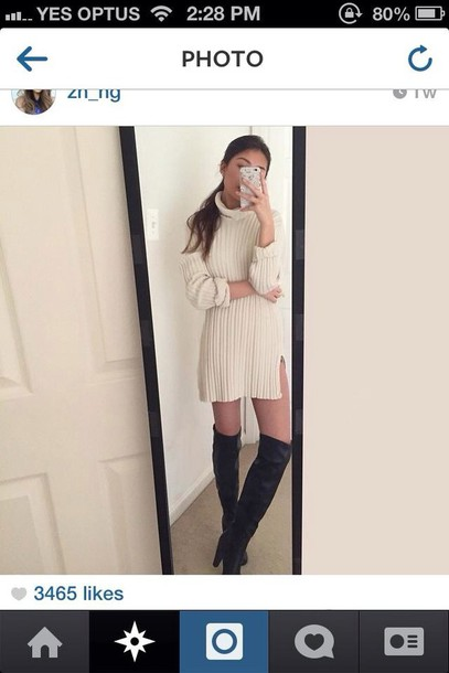 dress knit turtleneck