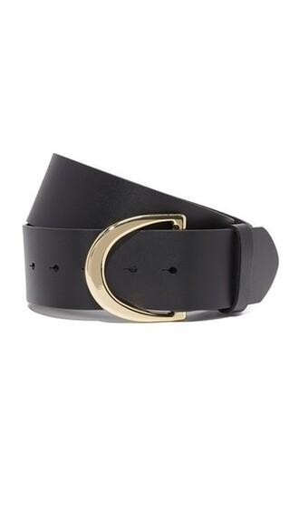 noir belt