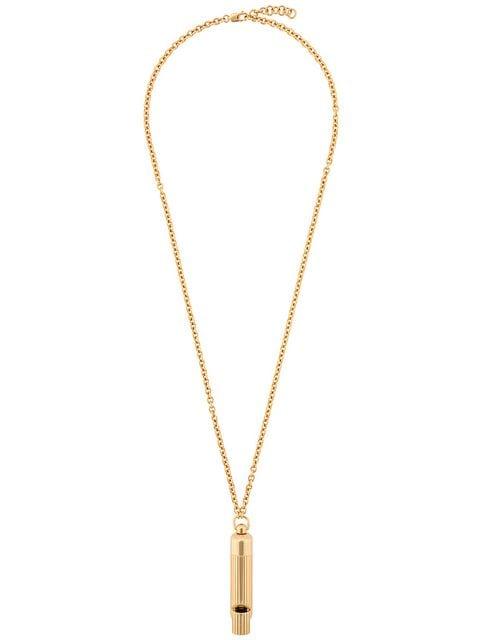 Victoria Beckham Whistle Pendant Necklace - Farfetch