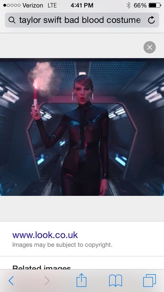 sexy cosplay costume taylor swift black jumpsuit