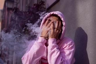 sweater pink hoodie
