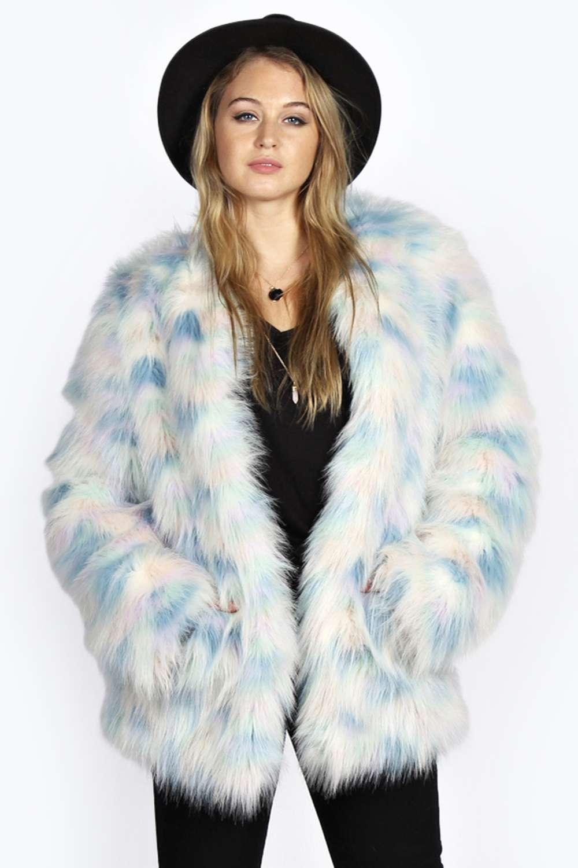 Pastel Fur Coat August 2017
