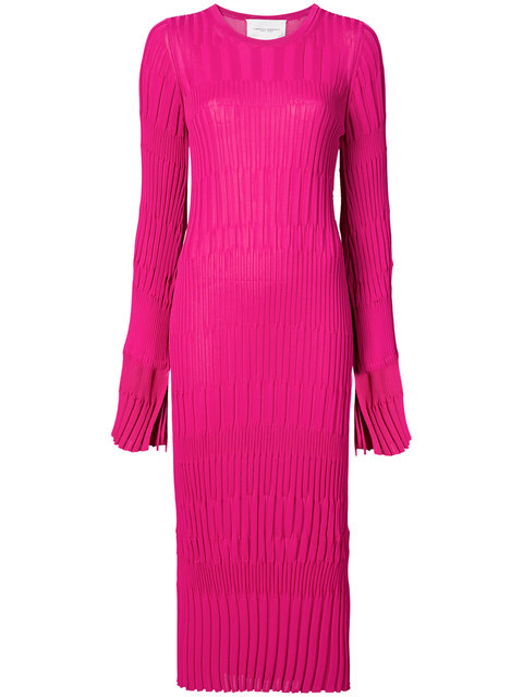 Carolina Herrera Fitted Knit Dress - Farfetch