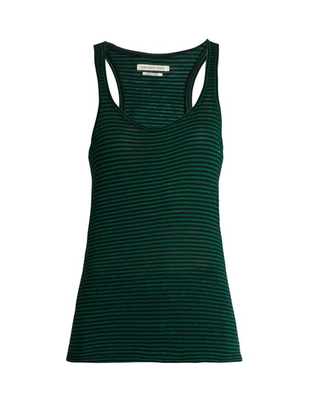Isabel Marant etoile tank top top cotton green