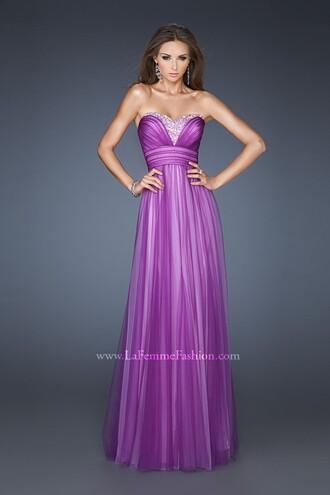 dress evening dress beaded prom dress charming design purple dress