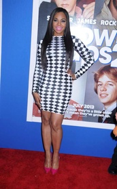 dress,ashanti,checker board