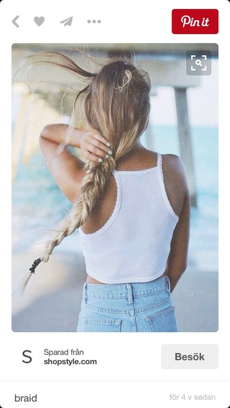 top white scalloped scallop efter fashion summer spring ss16 chic boho chic white crop tops summer outfits fashion vibes good vibe