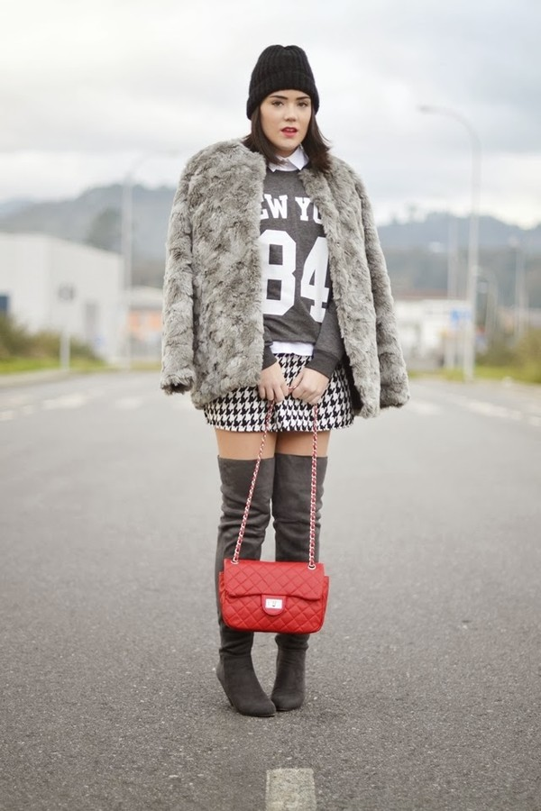 si las calles hablasen shoes skirt sweater shirt coat bag
