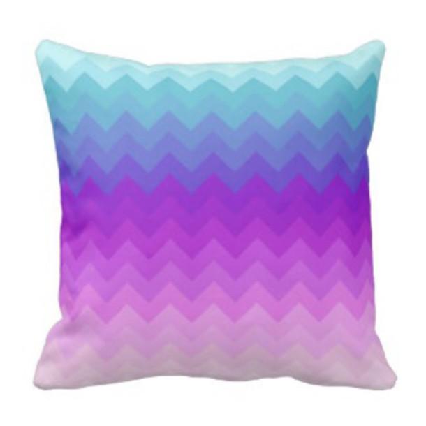 boho bedding multicolor pillow chevron turquoise