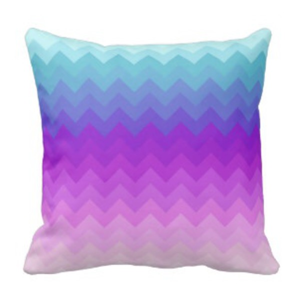 boho bedding multicolor pillow chevron turquoise