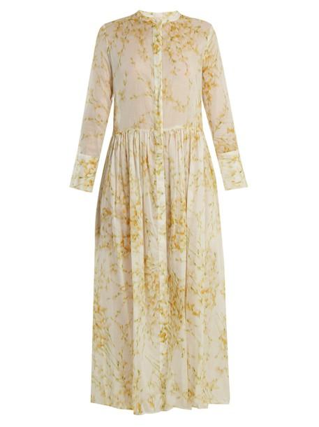 dress sweet cotton print white