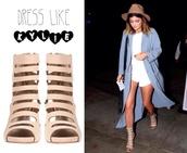 shoes,sandals,kylie jenner,heels,cardigan,high heels