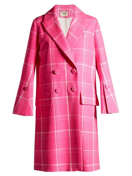 Fendi coat pink