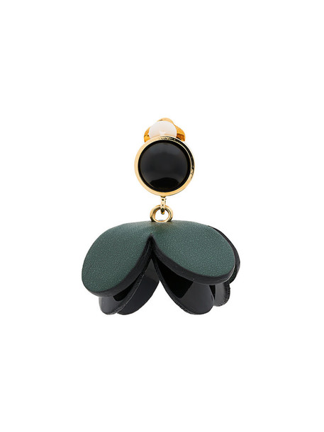 MARNI women leather green jewels