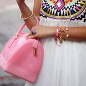 bag,pink,plastic,girly,sweet