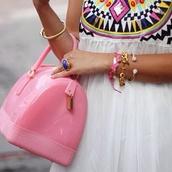 bag,pink,plastic,girly,sweet