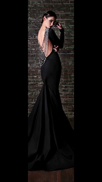 dress black dress prom gown prom dress