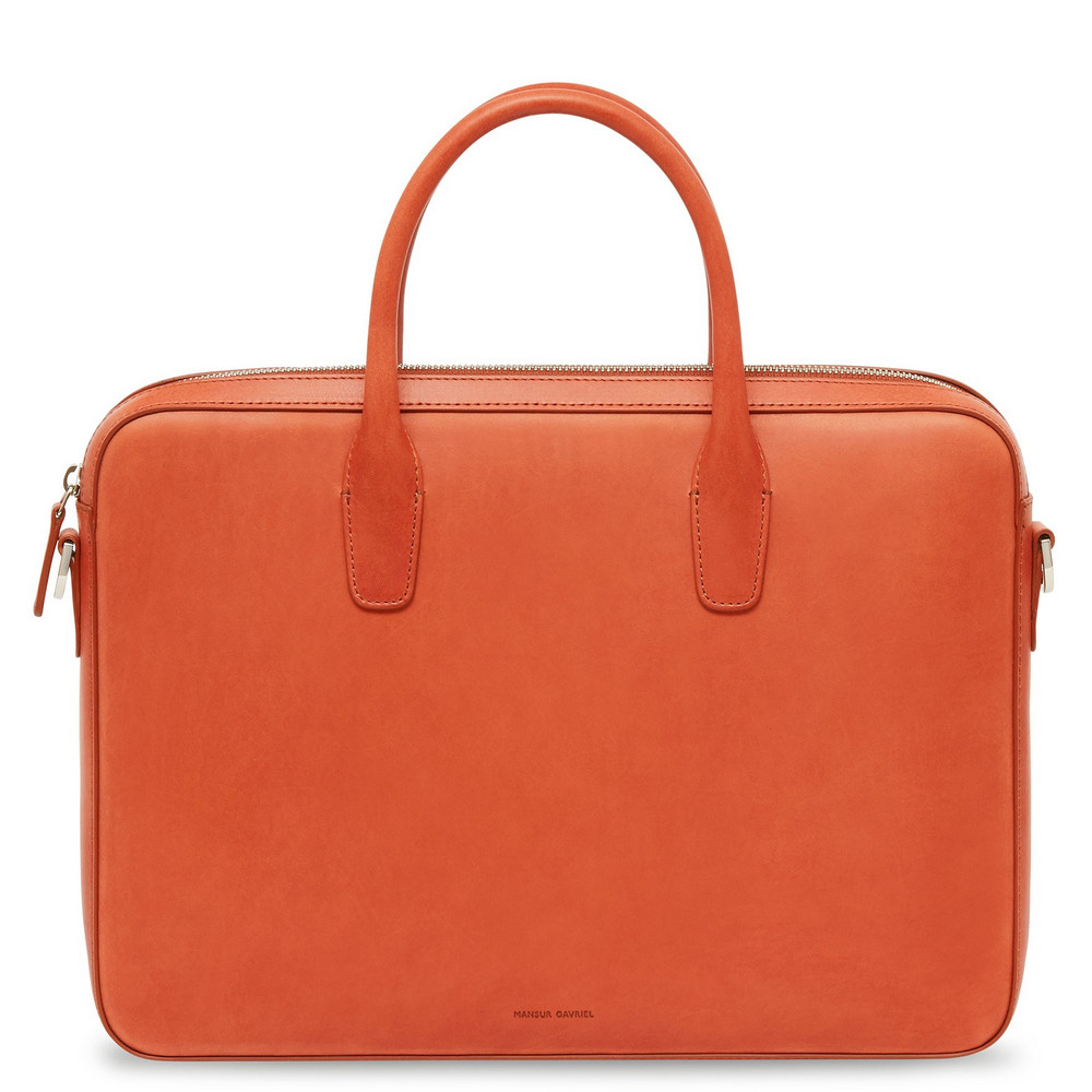 Mansur Gavriel Brandy Small Briefcase - Avion