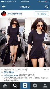 romper,dress,long sleeve romper,shorts,long sleeve dress,kendall jenner