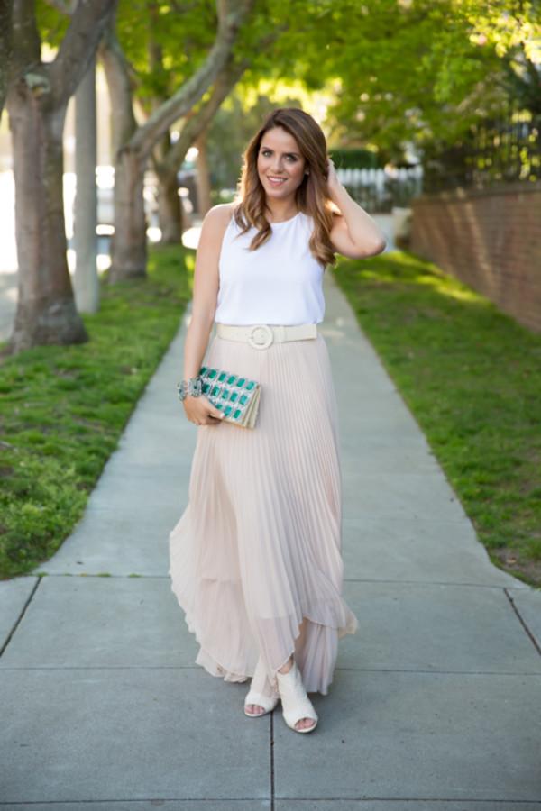gal meets glam t-shirt skirt belt bag shoes jewels