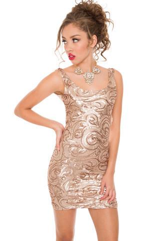 dress classy fancy gold