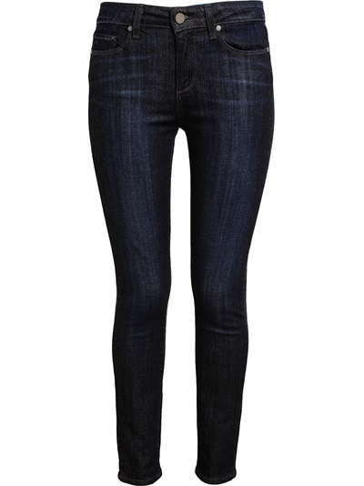 Paige Indigo Stretch Denim Jeans - Browns - Farfetch.com