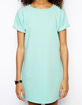 557a941edb Daisy Street | Daisy Street Sweater Dress with Turn Back Sleeve at ASOS