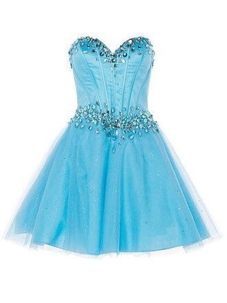 dress prom blue sparkle prom dress sparkly dress shiny blue dress strapless fashion style cute trendy amazing cool wow sexy super beautiful mini short mini dress bridesmaid princess dress dream dress crystal dressofgirl fabulous strapless dress sweet sweetheart dress gorgeous lovely love pretty cute dress sexy dress short dress sky blue vogue stylish fashionista girly summer special occasion dress gown ball gown dress