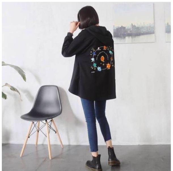 jacket tumblr black hoodie