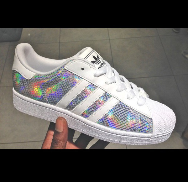 Superstars Adidas Glitzer