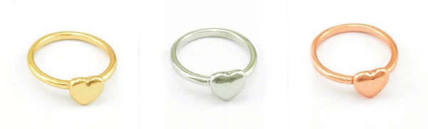 HEART MULTI PACK RING - Rings & Tings | Online fashion store | Shop the latest trends