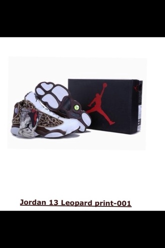 shoes white leopard print jordans jordan's cheetah print air jordan retro jordans jordan sneakers unique custom made customized sneakers beautiful in love
