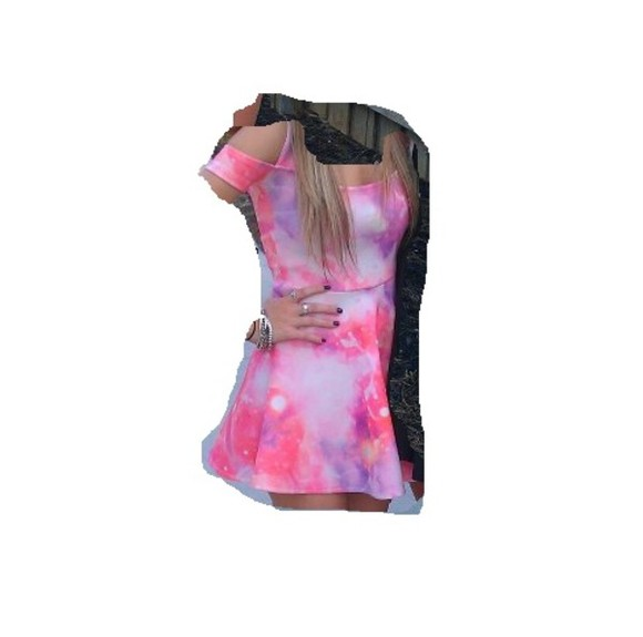 galaxy galaxy dress dress pink dress purple dress