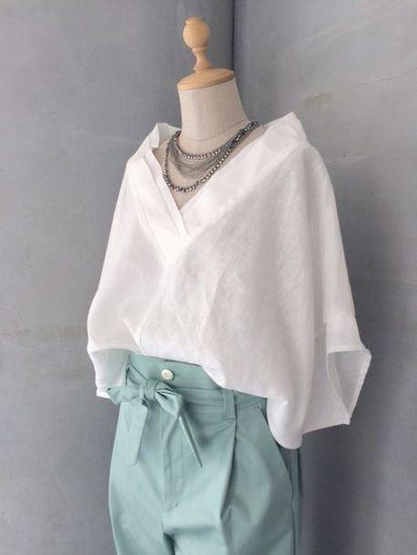 c74d61b8 top, white shirt, white, white flowy shirt, artist., flowy, boho ...