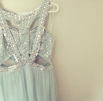 dress sparkles formal straps unique
