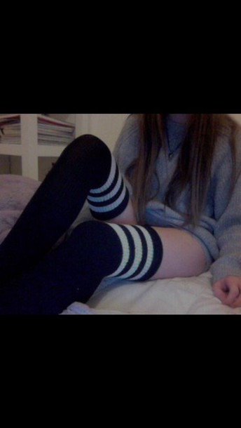 socks grunge tumblr outfit