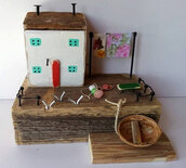 home accessory,gift ideas,home decor,wood cottage,driftwood cottage,house,cottage,wood,rustic decor,amazing,little cottage,little house,handmade,cottage decor,holiday gift