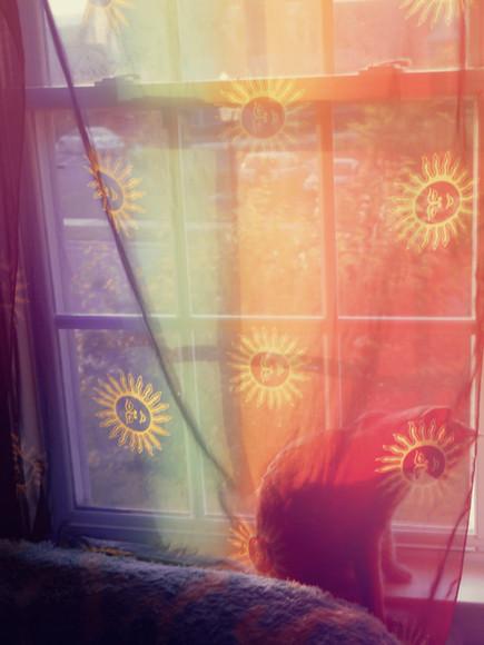 sun top curtains celestial rainbow curtains