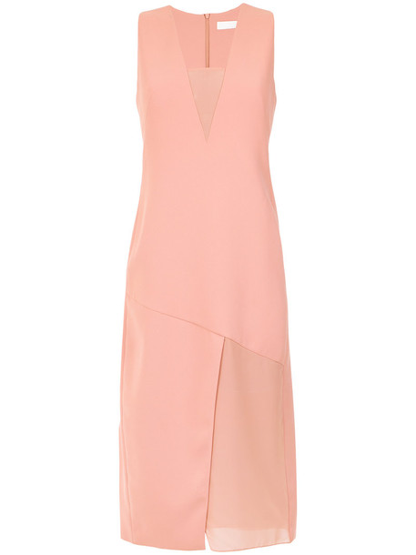 Giuliana Romanno dress midi dress women midi purple pink