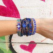 jewels,arm party,hipanema,bracelets,stacked bracelets,beachy jewelry,orchidbtq,orchidgal