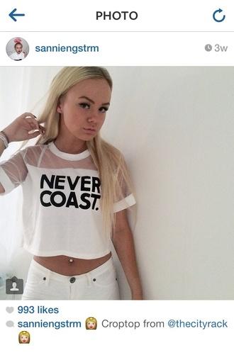 never coast dope graphic tee tee shirt t-shirt instagram